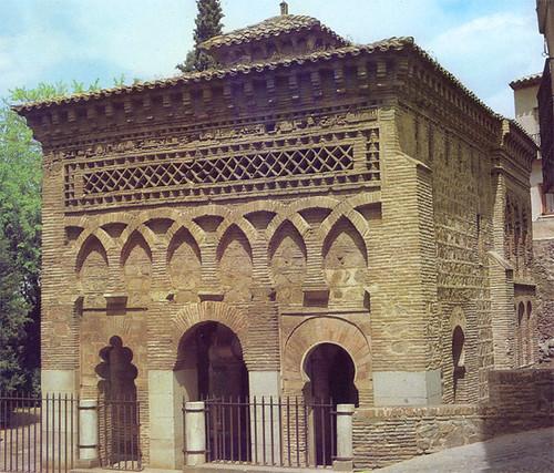 Mezquita del Cristo de la Luz (Toledo), a mediados de siglo.