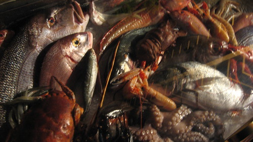 Fish still life  at Michelin Awards Party