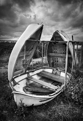 A trio of boats (louisahennessysuou) Tags: leigh essex southend 193365 leighmarshes october2008 thebestofday gnneniyisi flickrbestpics t189project365