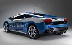 Polizia Lamborghini Gallardo LP560 new pictures