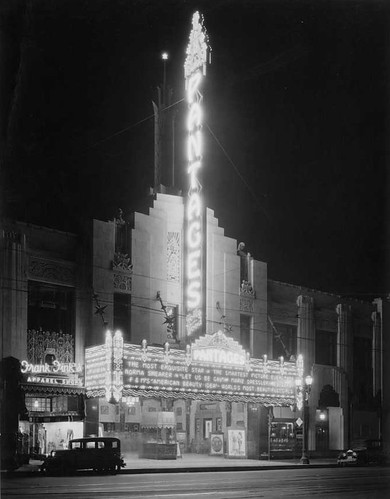 Pantages at Night