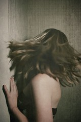 run away (Raul Romo) Tags: portrait people texture kim away run kimmodel