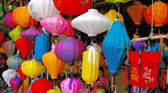 Lantern Love Hoi An (cwgoodroe) Tags: food art me beer river pig town october war asia village market an vietnam southeast hoi tailors danang checkens bambohats