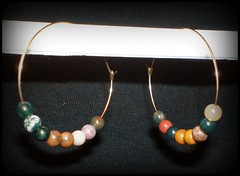 Fancy Jasper earrings
