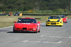 227 Relay  Chev C5 Corvette (Garden) (southspeed) Tags: club nz relay motorsport teretonga saloons