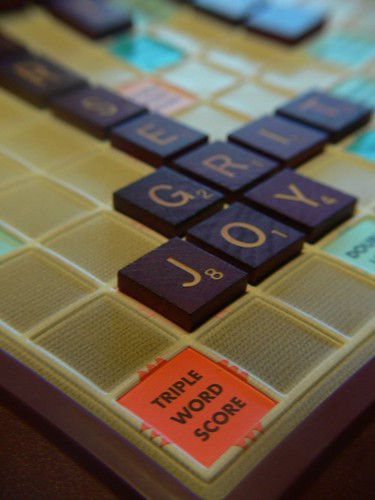 """Joy"" is Scrabble"