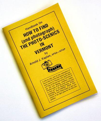 Vermont Photo Guide Book 1