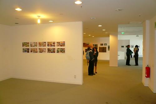 Ausstellung im ehemaligen Möbelhaus Helberger. Juli 2007