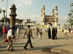 Evening at the charminar (jagannathraoadukuri) Tags: charminarhyderabad