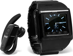 Bluetooth Mobile Phone Watch by momentimedia