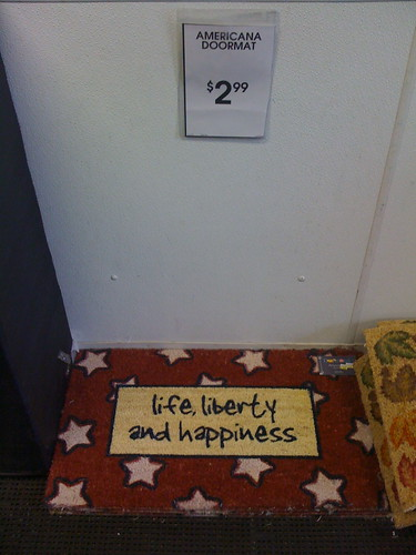 Walking All Over Life, Liberty And Happiness