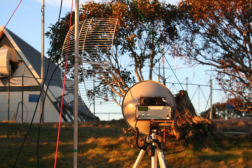 """10 GHz amateur radio at Mt Ginini, Australia • <a style=""""font-size:0.8em;"""" href=""""http://www.flickr.com/photos/10945956@N02/3048650548/"""" target=""""_blank"""">View on Flickr</a>"""