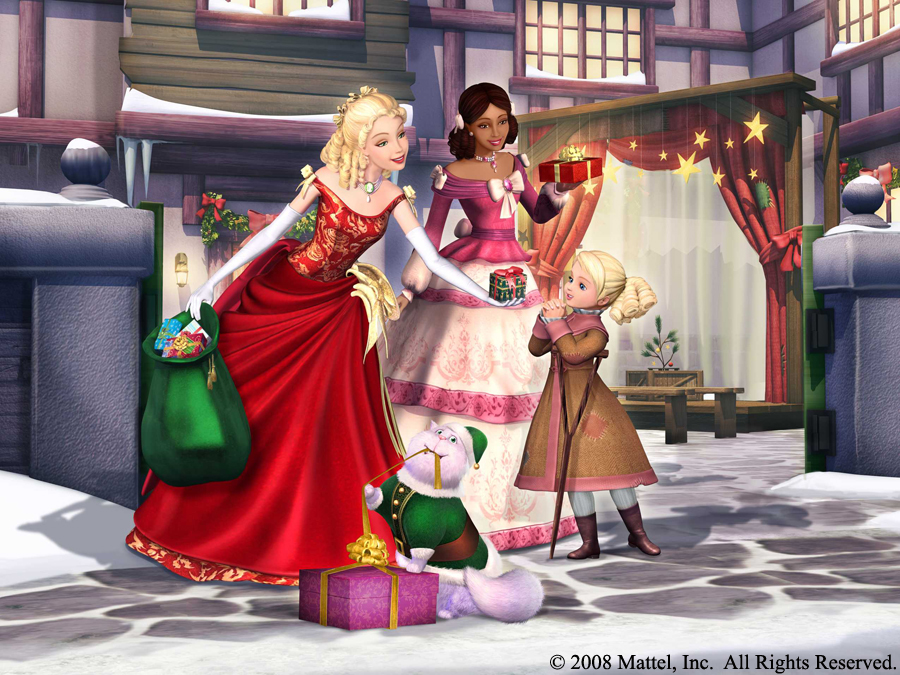 Barbie Christmas Carol wallpaper