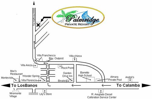 Palmridge Map