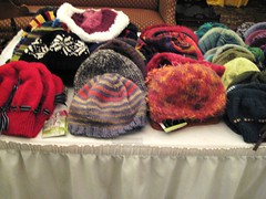 knitter's review retreat hat table