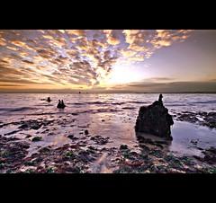 Southsea #9 (shacky Lancaster) Tags: uk sea water rock clouds coast seaside sand rocks keith lowtide southsea cokin sigma1020 shacky nohdr superaplus keithlancaster karmanominated