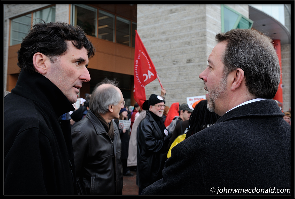 Paul Dewar & Julian Armour