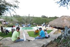 Con vista a la piscina (karina Machin) Tags: arte bosque artistas 2008 artesanas duaca lasalamandra edolara noviembre08 artebosque2008