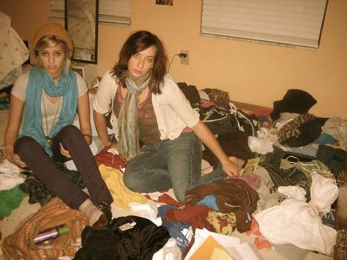 Messy Room Fashion Shoot