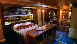 Stateroom aboard Galerna