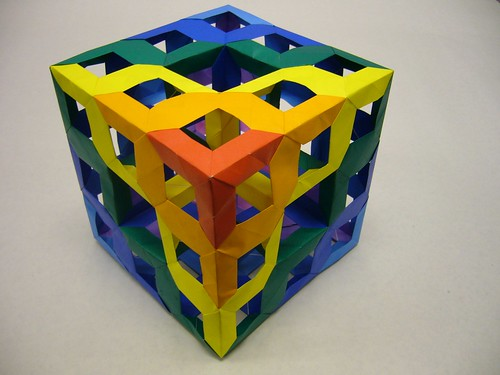 mengersponge modularorigami 3x3x3 openframeunit