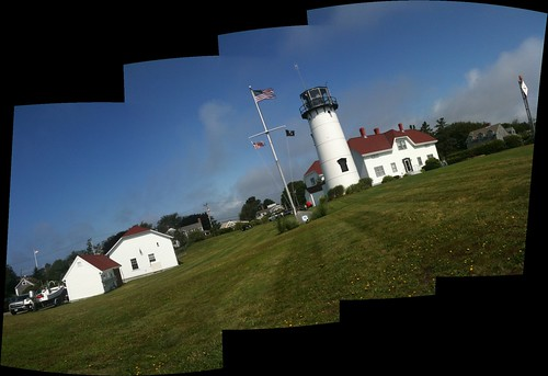Chatham Light iPhone 3GS autostitch panorama