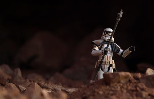 Sandtrooper on Camelback Mountain