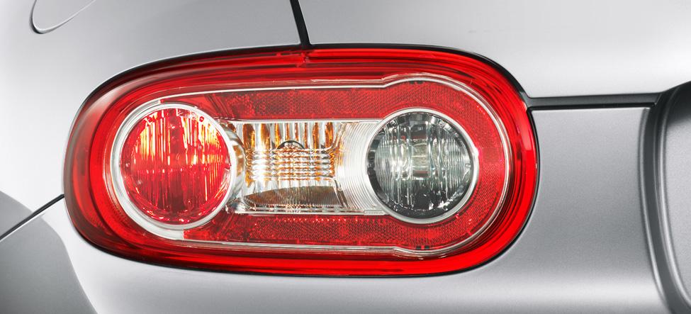 Mazda MX-5 Miata taillight design