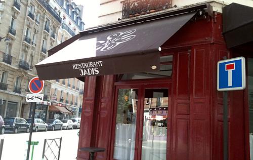 restaurant Jadis