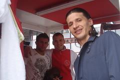 Marko Pantelic en Miralem Sulejmani (hartvoorajax)