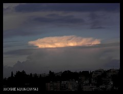 jerusalem -  (moshek70) Tags: sky rain weather clouds israel jerusalem   cumulonimbus