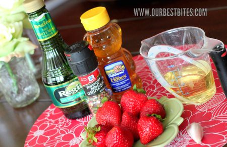 Berry Vinaigrette Ingredients