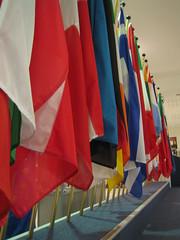 Banderas en el Parlamento Europeo
