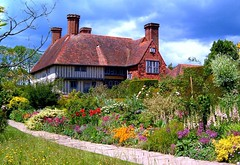 Great Dixter (☜✿☞ Bo ☜✿☞) Tags: uk flowers red england sky plants moon white house colour green home clouds sussex bravo designer path mansion author eastsussex gardener christo 1000views christopherlloyd dixter greatdixter herbaceousborder firstquality thegalaxy 100faves 100comments firsttheearth megashot favemegroup8 theunforgettablepictures photofaceoffwinner betterthangood life~asiseeit llovemypic rickspixtop50 showmeyourqualitypixels thegalleryoffinephotography ringexcellence aboveandbeyondlevel1 pureclassgoldbandaward pureclassdiamondlevel1 pureclassplatinumbandaward poetrygallery