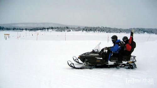 Kiruna - Snowmobile