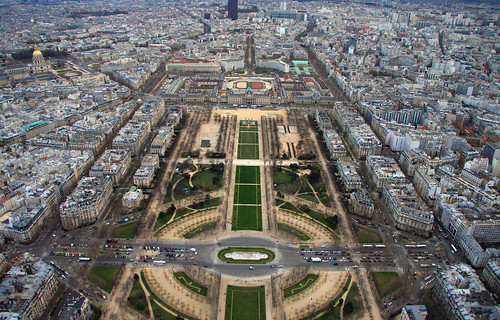 Vista desde la Torre Eiffel