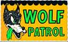 Wolf Patrol (Devlin Thompson) Tags: sticker postcard hotrod bigbadwolf decal impko