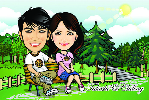 Q-Digital Caricatures - Park