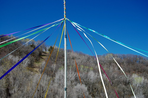Maypole in the Meadow
