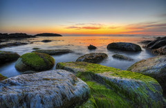 Ølberg (Per Erik Sviland) Tags: sunset sea norway rock nikon erik per sola hdr d300 pererik photomatix 8exp ølberg mywinners ourplanet theunforgettablepictures goldstaraward sviland sqbbe pereriksviland