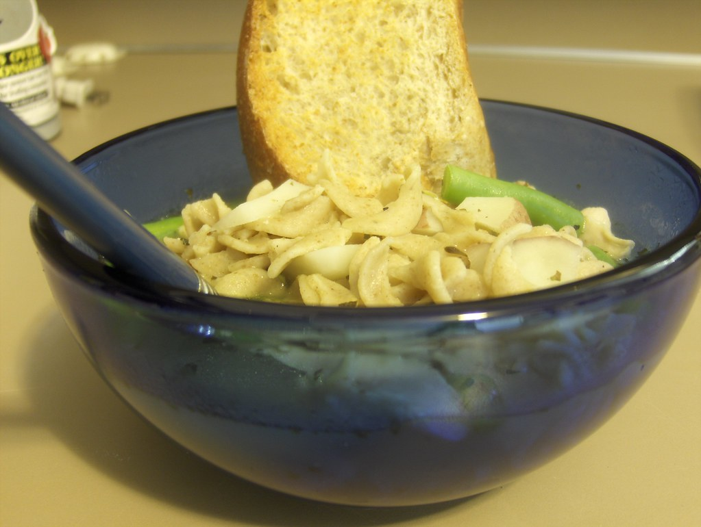 Day Twelve: Hulia's Chicken Noodle Soup