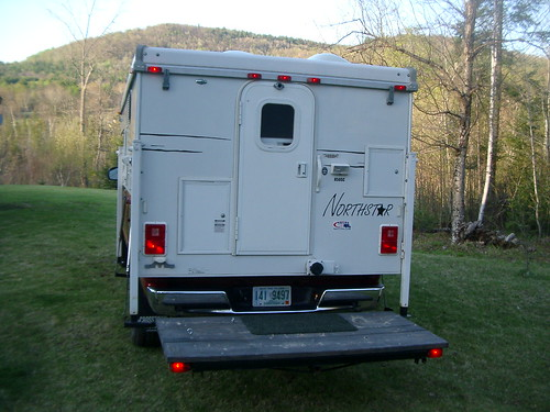 RVNet Open Roads Forum Truck Campers TC Rear Deck Pics
