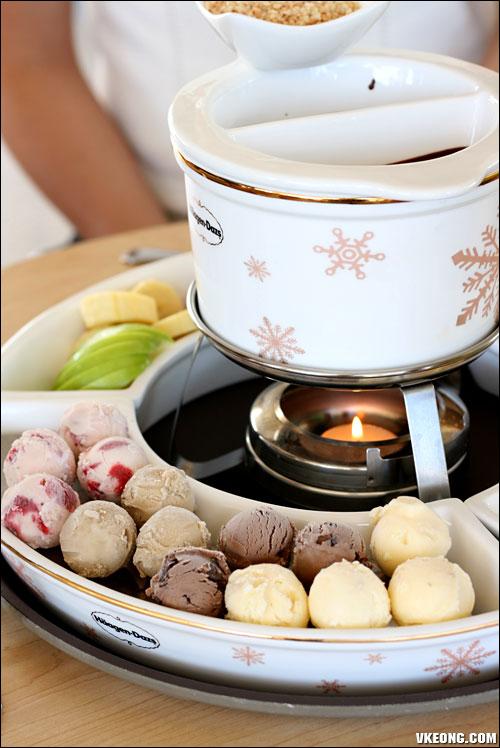 Haagen Dazs Chocolate Fondue @ Autocity - Malaysia Food ...