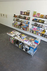 Domy_02_color (myguerrilla) Tags: vertical gallery bookstore fromabove austintexas bookstacks domybooks installationshots onecesarchavez