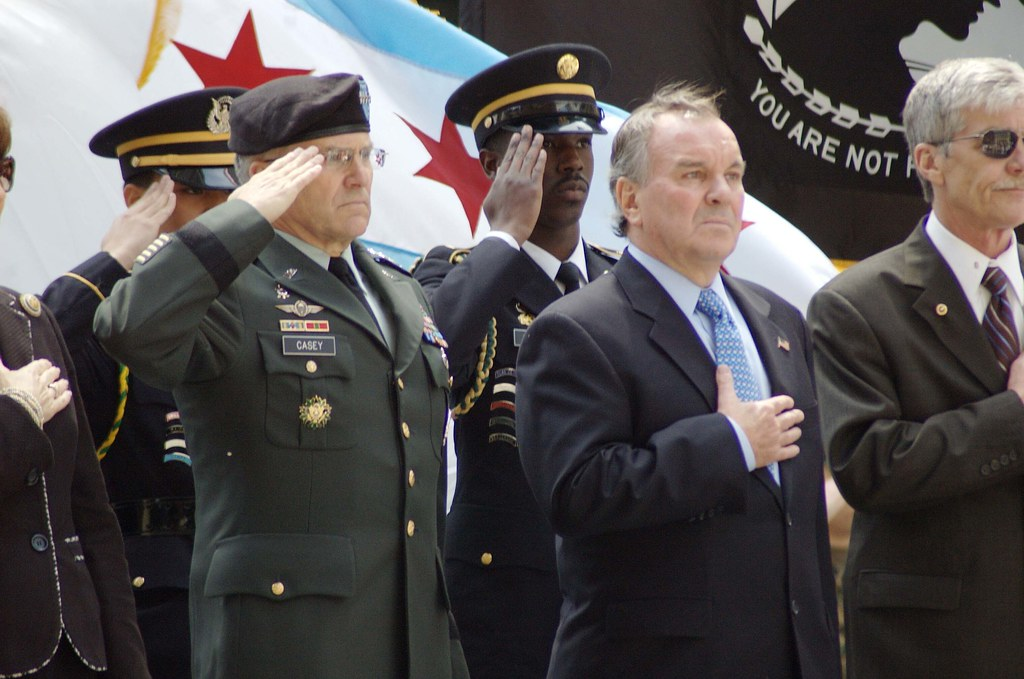 Memorial Day Observance in Chicago