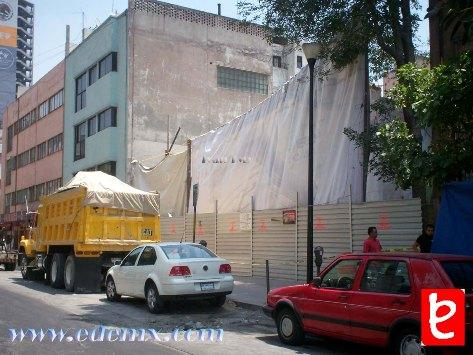 Torre Reforma, terreno. ID293, Iván TMy©, 2008