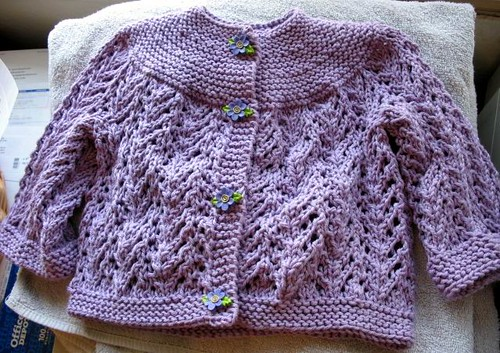 Carina's Feb Baby Sweater