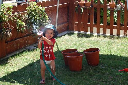 watering mama!