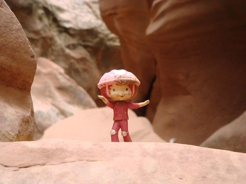 Peaches, goddess of slot canyons