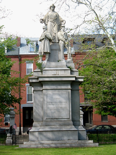 Winthrop Square (1) - Charlestown Civil War Memorial